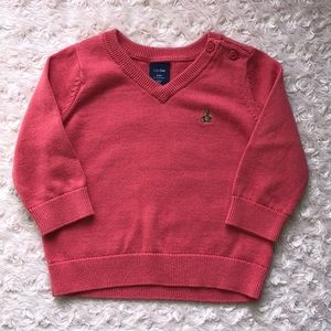 Baby Gap V-neck sweater, 6-12 mos